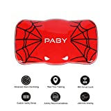 PABY Pet Tracker, 3G GPS Pet Tracker & Activity Monitor for Dogs Cats Smart WIFI Virtual Fence Rechargeable Waterproof Tracker Pet Safe Wireless Fence Pet Finder for Android/iPhone