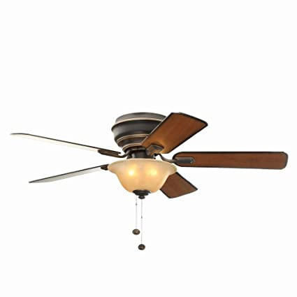 Hampton bay hawkins 44 in tarnished bronze ceiling fan amazon hampton bay hawkins 44 in tarnished bronze ceiling fan mozeypictures Choice Image