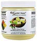 Shea Butter - 16 oz - 1 lb - Organic - Premium Unrefined - In resealable HDPE Jar