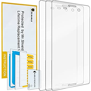 Mr Shield For Sony Xperia M4 Aqua Premium Clear Screen Protector [3-PACK] with Lifetime Replacement Warranty