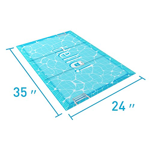 Allisandro Dog Cooling Mat 35'' X 24'' Pet Cool Pad Self Fast Cooling Dogs Bed Mat For Large Dogs Pets Non-Toxic Easy To Clean by Allisandro