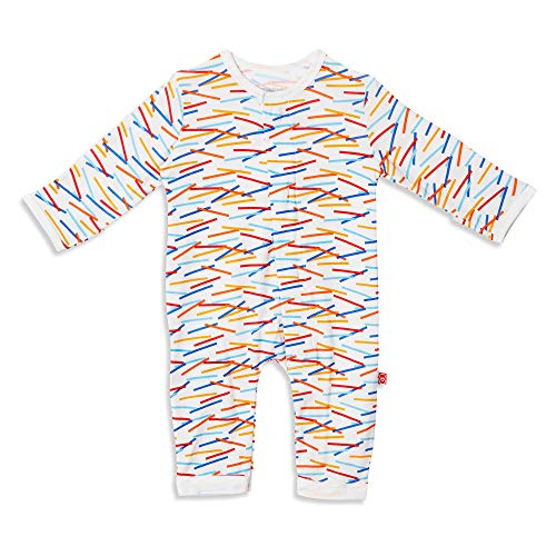 Magnificent Baby Baby Infant Magnetic Modal Coverall