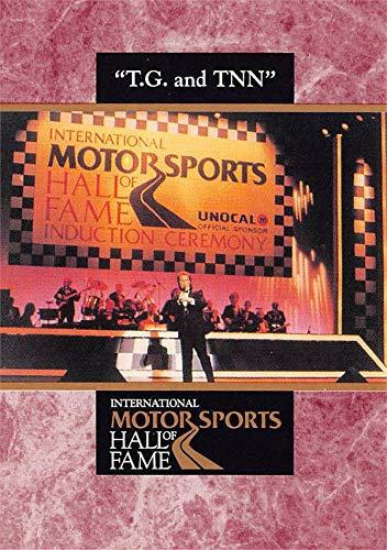 T.G. Shepherd trading card (International Motor Sports Hall of Fame, Country Music Star) 1992 Maxx #40