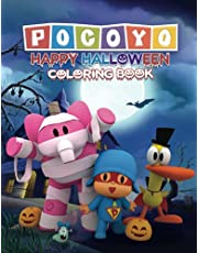 Pocoyo: Happy Halloween Coloring Book.The Fantastic Halloween Coloring Book Present for Children & Kids, or Wonderful Halloween Gift for Toddlers!