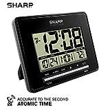 Sharp Atomic Desktop Clock – Auto Set Digital