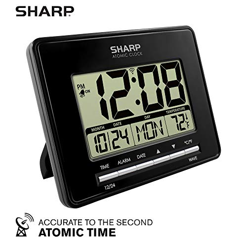 Sharp Atomic Desktop Clock