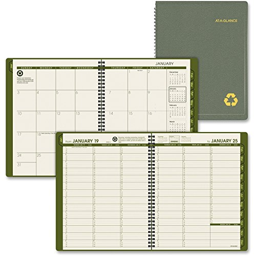 onal Eco-friendly Appointment Book - Weekly - 8.25