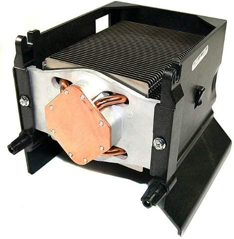 Genuine Dell CPU Fan Heatsink and Shroud Assembly For PowerEdge SC430 Part Number Renewed DN004
