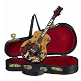 #1: Grateful Dead Collectible: 2015 Kurt Adler 50th Anniversary Guitar Christmas Ornament & Case