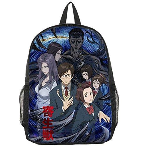 Bromeo Parasyte Pattern Backpack School Bag (4 Styles to Choose) #2