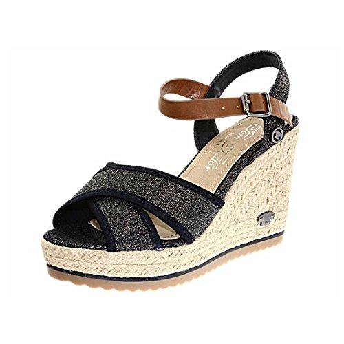Tom Tailor 9690207 bleu - Chaussures Sandale Femme