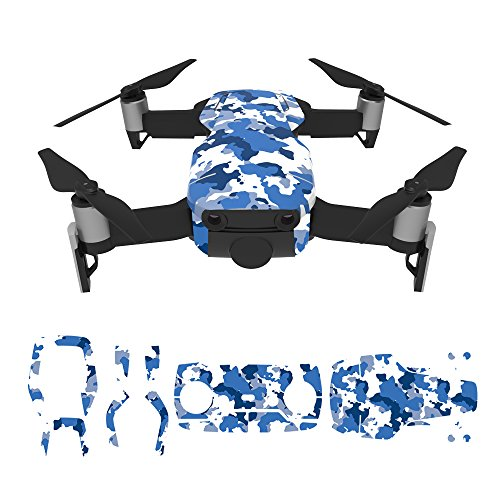 RCstyle Waterproof 3M Material Decorative Sticker Decal Skin Wrap Cover Kit For DJI Mavic Air (Cover Skin Carbon)