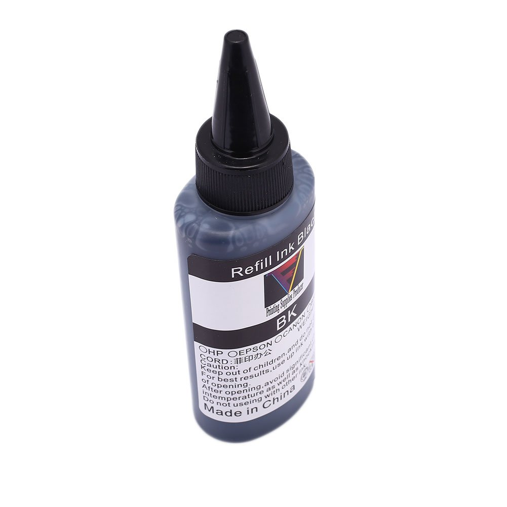 Beautyrain Cartuchos de Tinta lí quida de inyecció n de Tinta de Recarga de Tinta DE 4, 4 ML 4.4 * 3.1 * 14.4cm para BR