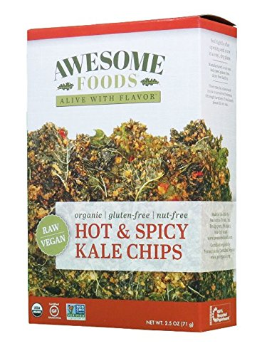 Hot & Spicy Kale Chips, 4 Pack