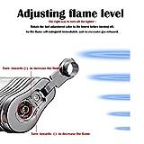 4 Flame Jet Lighter, Torch Lighter Gas Butane