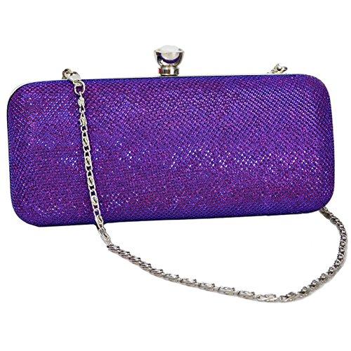 à main mariage mariage sacs 2 Femmes sac de de à Purple de embrayage main de soirée soirée nuptiale Design 7w0Pq
