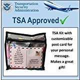 TSA Approved Women's Toiletry Kit 62 Popular Name Brand Items   Compare to box store pricing, each item costs around $0.92 cents   Great Gift for Travel Companions   Business Trips