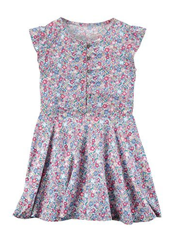 Carter's Toddler Flutter-Sleeve Floral Poplin Dress - Dress Poplin Party