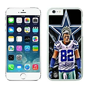 NFL iPhone 6 Plus 5.5 Inches Case Dallas Cowboys Jason Witten White iPhone 6 Plus Cell Phone Case ONXTWKHB1235