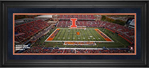 Illinois Fighting Illini Framed 10