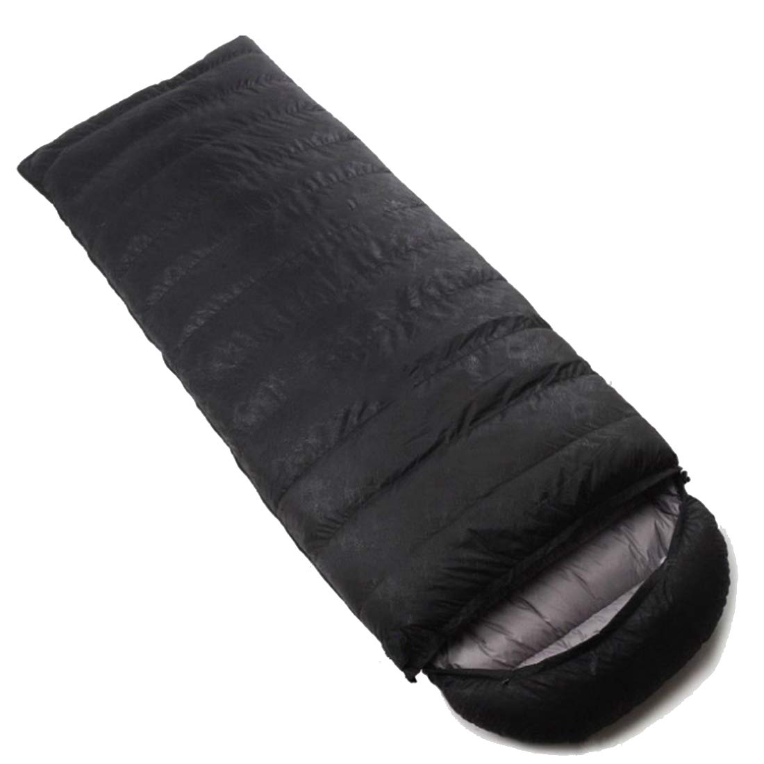 JANFELICIA JANFELICIA JANFELICIA Leichter Schlafsack für Erwachsene, Komfort mit Kompressionsbeutel (Farbe   schwarz, Größe   1000g) B07JCY2JPG Schlafscke Ausgewählte Materialien 40c9d1