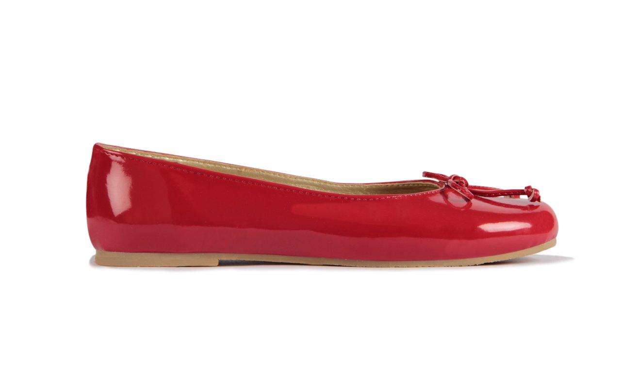 Subibaja Mia - Mommy & Me Shoes, Classic B0772V7ZWC Ballet Flats for Women B0772V7ZWC Classic 7 B(M) US|Red Patent 2e4368