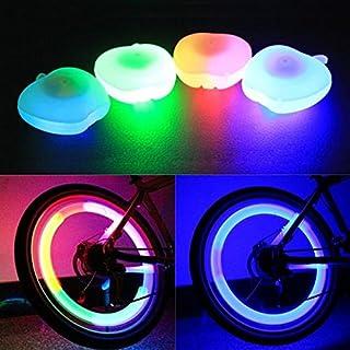 Moppi Rueda de la decoración bici bicicleta lámpara alambre ligero forma de manzana habló lámpara freshest Moppi