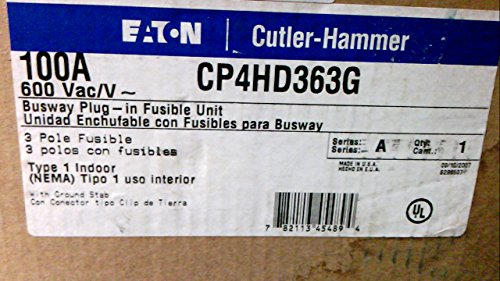 Cutler Hammer Busway - CUTLER-HAMMER CP4HD363G - BUSWAY PLUG CP4HD363G