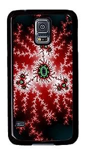 Samsung Galaxy S5 The Pretty Abstract Art Design PC Custom Samsung Galaxy S5 Case Cover Black