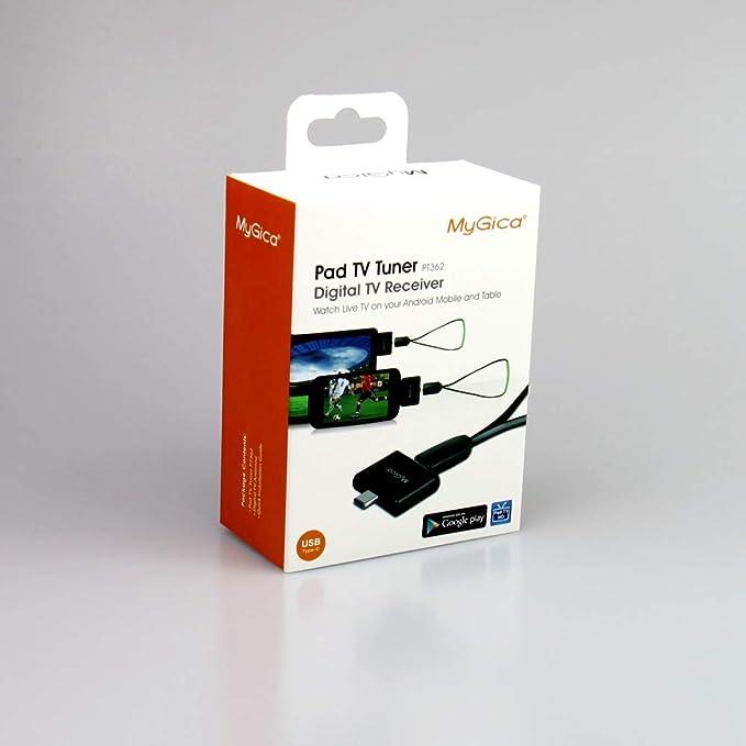 Sintonizador TDT HD Type-C USB - MyGica PT362: Amazon.es ...