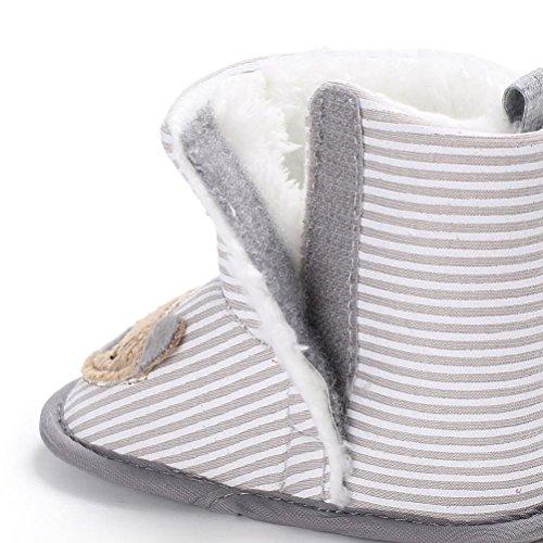 JIANGFU Baby Kleinkind Schuhe Stiefel,Baby Boy Soft Booties Schneeschuhe Infant Kleinkind Neugeborenen Erwärmung Schuhe (2, BG)