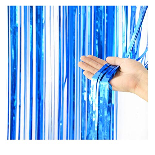 PanDaDa Shiny Tassel Garland Tissue Paper Tassels Banner Decoration for Birthday Party Home Decor Tassels,Event & Party Supplies, Bridal Shower, Table Decor