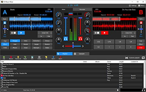 Price comparison product image DJ Music Mixer 6.4