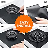 10 pack, gas stove protector, stove burner