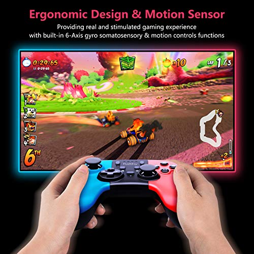 Wireless Controller for Nintendo Switch,Remote Pro Controller Gamepad Joystick for Nintendo Switch Console, Supports Gyro Axis, Turbo and Dual Vibration