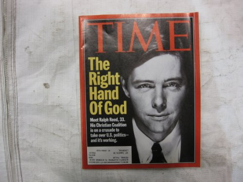 Time Magazine May 15 1995 The Right Hand of God  Ralph Reed