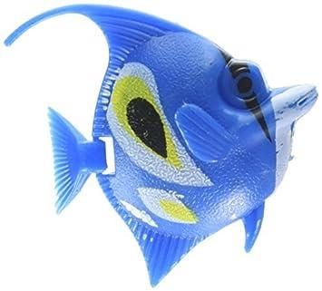 eDealMax 5 piezas de plástico del tanque de pescados del acuario Decoración
