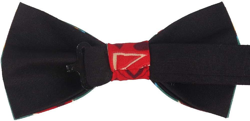 Ofertas Hacer Un Pedido Deirdre Agnes Pajarita para hombre pajarita estampada pajarita de boda traje pajarita corbata y pañuelo para hombre Bt34903 L04rxO m5dQk9