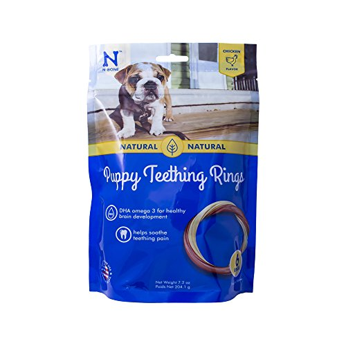 N-Bone Puppy Teething Ring Chicken Flavor (1...