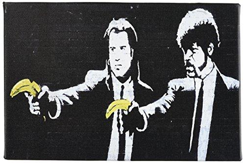 iCanvasART Fiction Bananas Canvas Banksy product image