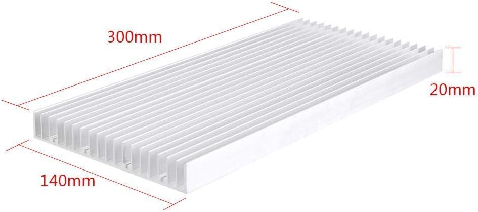 JingYi Heatsink,1pc Aluminum Heat Sink 30014020MM Cooling Heatsink for High Power LED Light Cooling Accessary