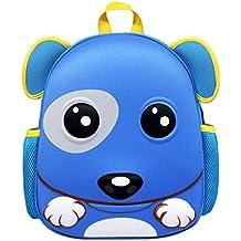 Zahara Waterproof Hard Shell Backpack for Kids,Toddler Zoo Animal Preschool Bag