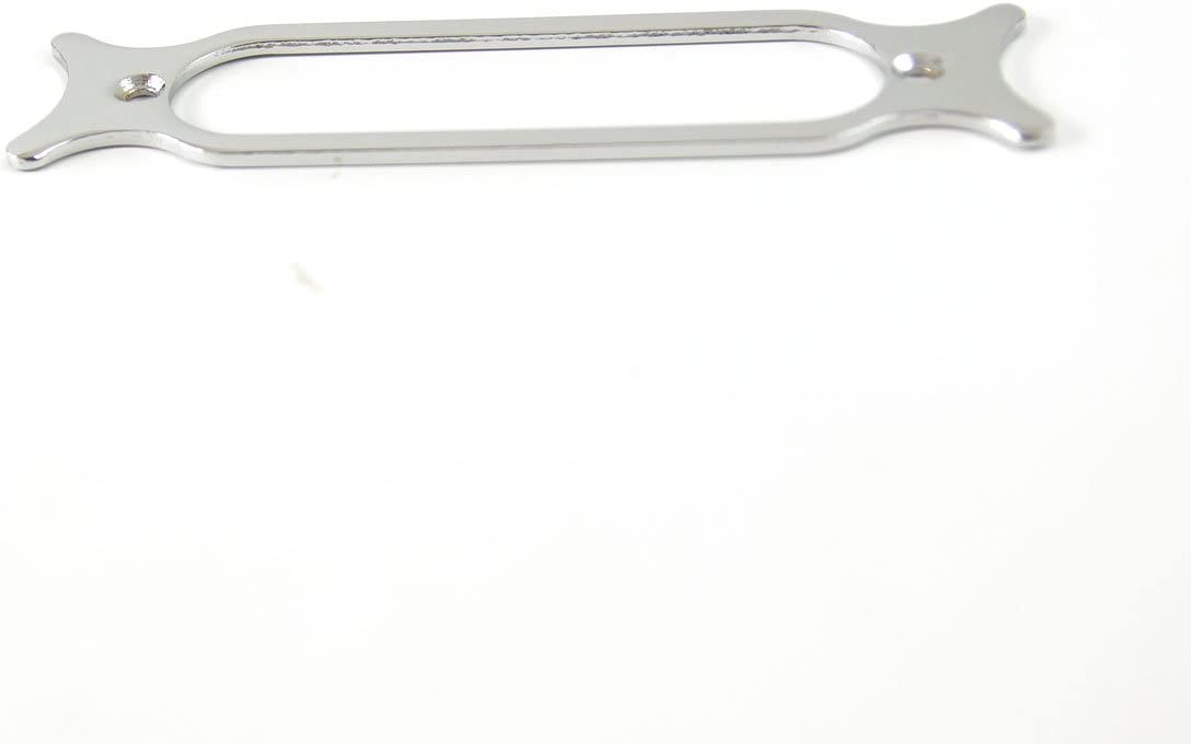 High Quality Single Coil Pickup Mounting Base plate Rings,Metal Chrome