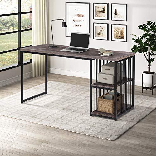 Industrial Computer Desk,55 inch Writing Desk - a good cheap modern office desk