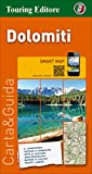 img - for Dolomites Touring Map TCI 2015 (English and Italian Edition) book / textbook / text book