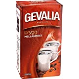 ゲバリアののKaffeのMellanrost - ミディアムローストグランドフィルターコーヒー500グラム - Gevalia Kaffe Mellanrost - Medium Roast Ground Filter Coffee 500g [並行輸入品]