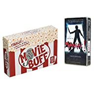 Golden Bell Studios Movie Lovers Party Game Pack - You Are the Maniac! and Movie Buff