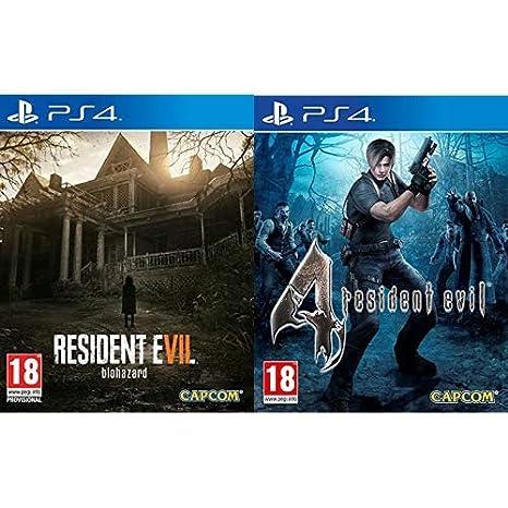 Resident Evil 7: Biohazard & Evil 4 HD: Amazon.es: Videojuegos
