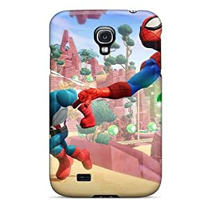 Shock-Absorbing Hard Cell-phone Case For Samsung Galaxy S4 With Custom Trendy Inside Out Series DannyLCHEUNG