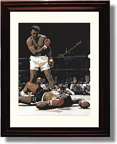Framed Muhammad Ali Autograph Print product image